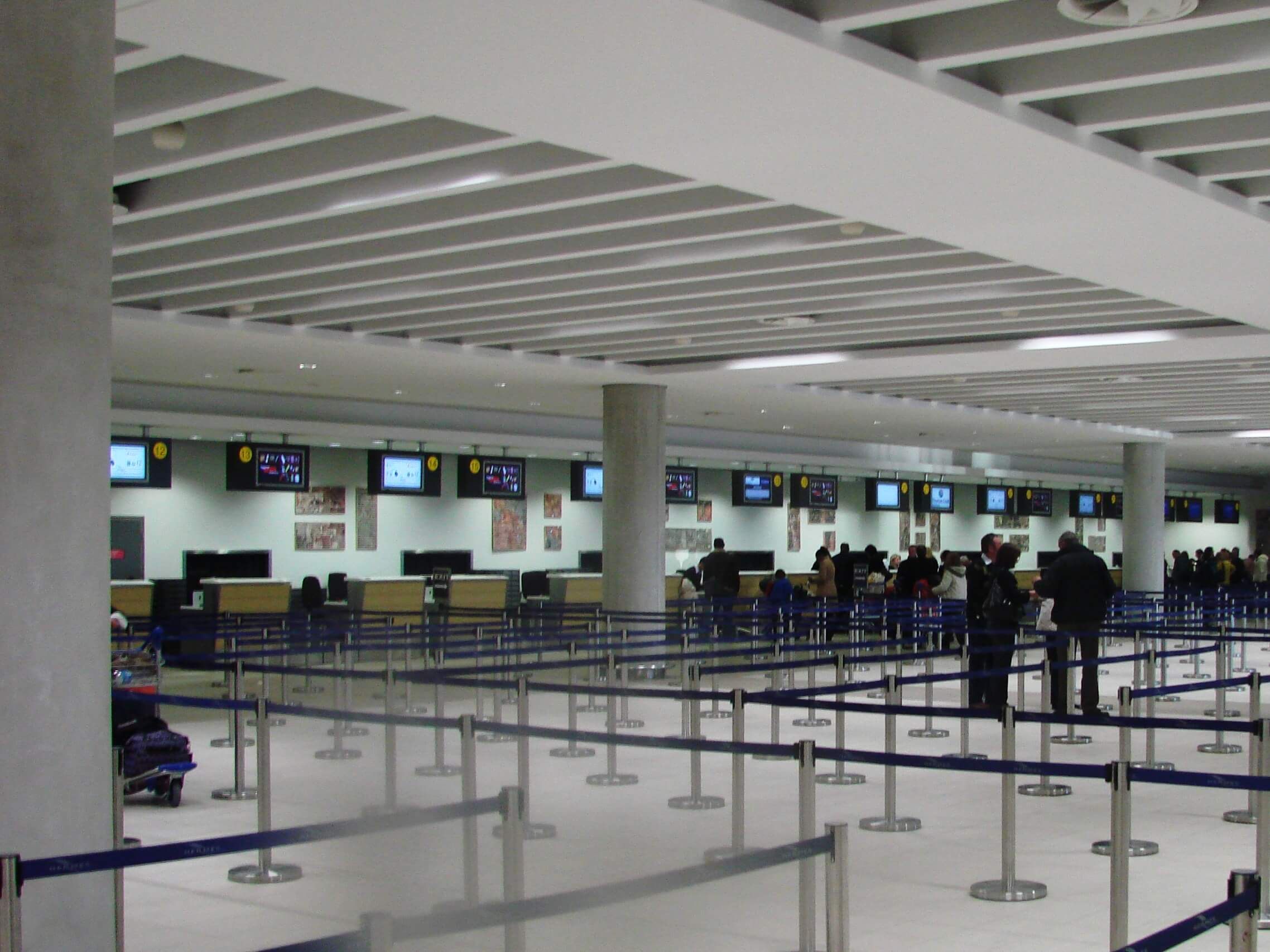 Paphos Baf International Airport Check In Hall.jpg